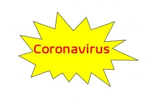 Coronavirus speech bubble