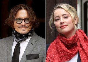 Image of Johnny Depp and Amber Heard